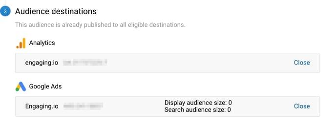 Analytics-audience-destinations