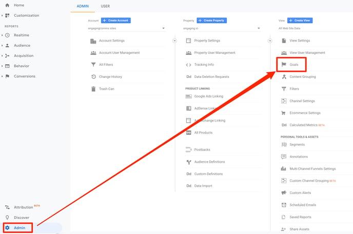 Create-a-google-analytics-goal